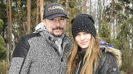 Bohuš Matuš s přítelkyní Luckou