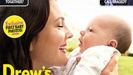 Drew Barrymore na obálce magazínu People i se svou kouzelnou dcerou Olive.