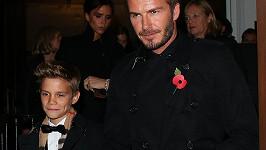 Módního guru Davida Beckhama předběhl syn Romeo...