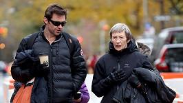 Hugh Jackman s maminkou Grace