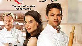 Plakát k novému britskému filmu Love's Kitchen, který u diváků propadl.