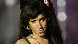 Zpěvačka Amy Winehouse.