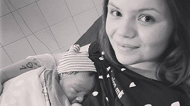 Veronika Stýblová je maminkou.