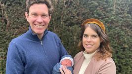Princezna Eugenie z Yorku a její manžel Jack Brooksbank oficiálně představili svého syna.