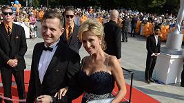 Kateřina Brožová zvolila své vlastní šaty.