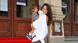 Petra s dcerou Adrianou.