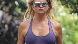 Goldie Hawn si šla zaběhat...