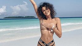Daniela Zálešáková už se s plážemi Zanzibaru rozloučila.