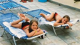 Sestry Plíškovy jako malé holky