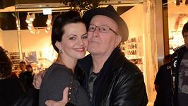 Marta Jandová s otcem Petrem Jandou