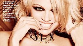Pamela Anderson na své již čtrnácté obálce Playboye