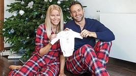 Jakub Kraus s manželkou Evou se těší na miminko.