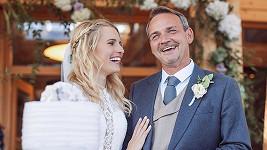 Reportérka Michaela Široká si o víkendu vzala dabéra Filipa Švarce.