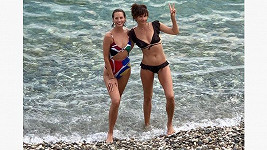 Christy Turlington a Helena Christensen