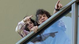 Takhle Mick Jagger tráví volný čas po oznámení nemoci.