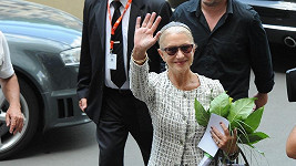 Helen Mirren dorazila do Karlových Varů.