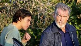Pierce Brosnan se synem Parisem