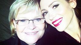 Tereza Kerndlová s maminkou