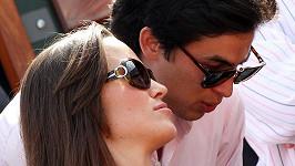 Pippa Middleton s tajemným mužem na turnaji Roland Garros.