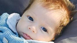 Tříměsíční Sasha je kouzelné dítko.