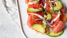 Citrusový salát s fenyklem a avokádem