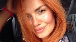 Táňa Kuchařová a její nový letní odstín
