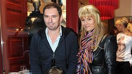 Emanuel Ridi s manželkou Janou a synem Giacomem