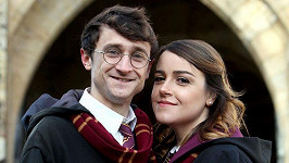 Luke Williams a Kathryn Burnett jsou dvojníci Harryho Pottera a Hermiony