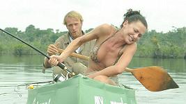 Eliška Bučková s Jakubem Vágnerem na Expedici Amazonie 2015