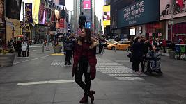 V New Yorku strávila pět dní.