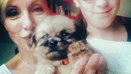 Renata a její nové psí dítko...