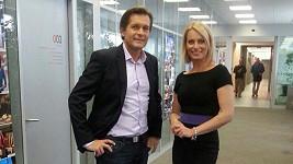 Kristina Kloubková a Martin Pouva