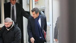 Sarkozy má z narození dcerky zjevně ohromnou radost.
