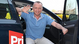 Karel Voříšek na stupuje na Primu.