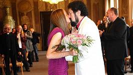 Irena (33) a Vláďa (66) z Walda Gangu se vzali po dvou měsících známosti.
