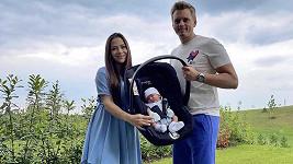 Timea Trajtelová má syna.