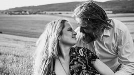 Martin Ditmar s manželkou Kristýnou