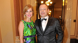 Michal Dvořák s manželkou