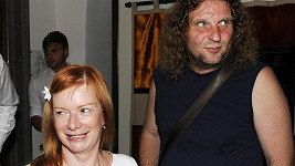 Bára Štěpánová s manželem