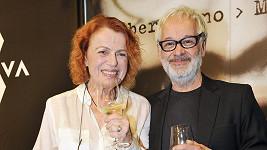 Iva Janžurová s Robertem Vanem