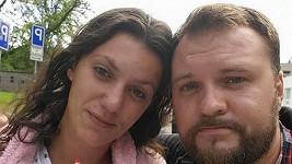 Veronika Zelníčková s přítelem