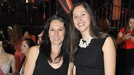 Šárka Kašpárková s dcerou Terezou
