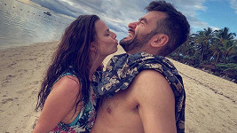 Marek Ztracený s přítelkyní Marcelou