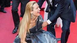 Petra Němcová je zatím v Cannes rozhodně nepřehlédnutelná.