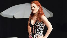 Michaela Nosková málem nestihla nástup na scénu muzikálu.