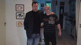 Petr Veselý s exkámošem Josefem Rychtářem