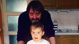 Quentin Kokta s tátou Pepou