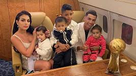 Cristiano Ronaldo s rodinkou