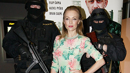 Vlastina Svátková na premiéře filmu Gangster Ka: Afričan