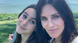 Courteney Cox s dcerou Coco